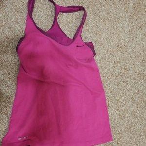 Nike dri fit blouse